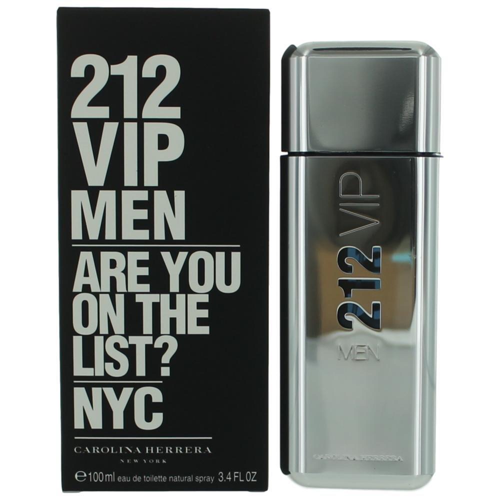 Carolina Herrera Beauty Gift 212 Vip Rose Perfume 27 Women Edp 80ml By Eau De Toilette Spray For Men 34 Ounce