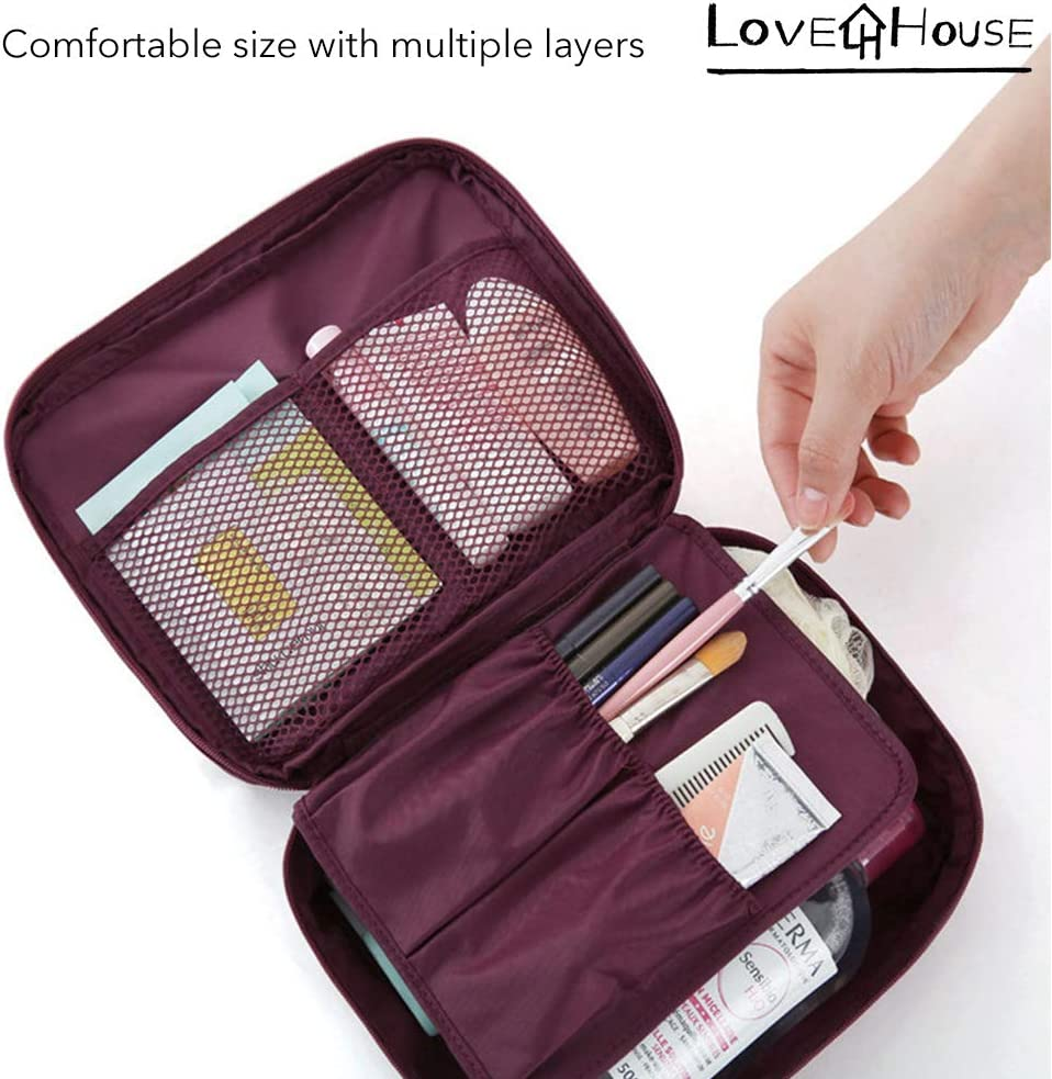 Multi-layers with fashion and special design for young and modern travelers Fossil Grey, Medium Water-proof Luggage Packing Organizer families and bag packers,