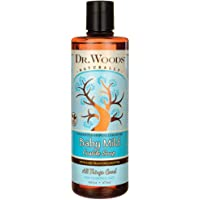 Dr. Woods Unscented Baby Mild Castile Soap with