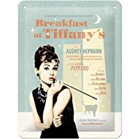 Audrey Hepburn – Metal Levha Audrey Hepburn Tiffany 20 cm