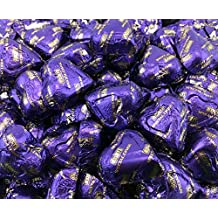 Hershey's Valentine's Hearts Dark Chocolate Candy, Purple, Bulk Pack (Pack of 2 Pounds)
