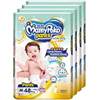 MamyPoko Extra Dry Pants, M, 48 Count, (Pack of 4)