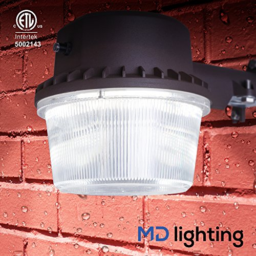 Outdoor LED Flood Light w/ Dusk-to-Dawn Photocell - Weather-Proof 5-Year Warranty - Very Bright ...