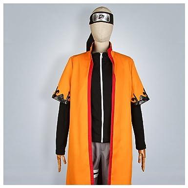 Cosonsen Naruto Uzumaki Sixth Hokage Cosplay Costume Men S