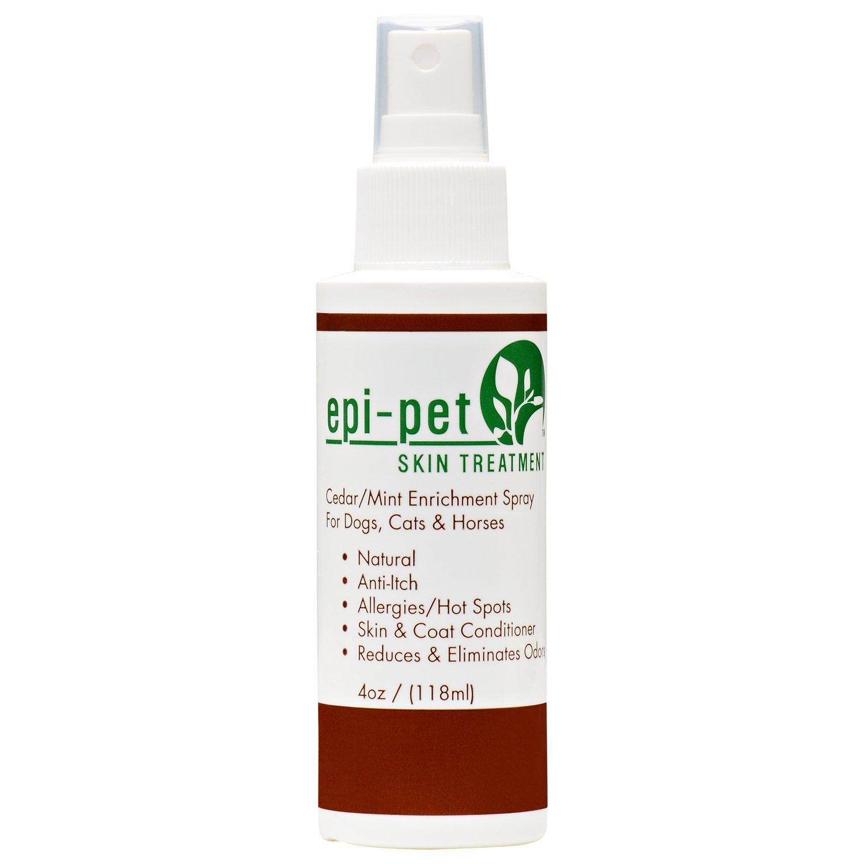 Epi-Pet Cedar/Mint Skin Enrichment Spray for Pets, 4-Ounce by Epi-Pet