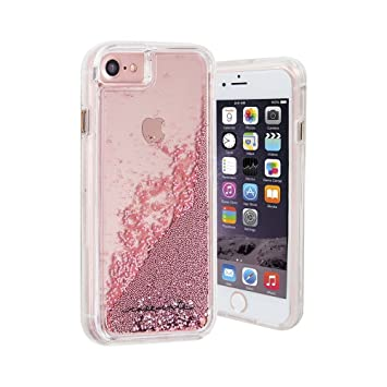 the latest a82a9 d3de3 Case-Mate CM034682X Naked Tough Waterfall Case for iPhone 8/7/6s/6 - Rose  Gold