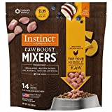 Nature's Variety Instinct Raw Boost Frozen Mixers Grain Free Dog Meal Topper - Chicken - 8 oz