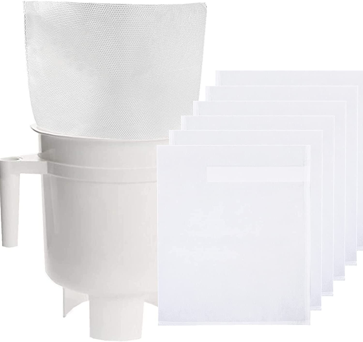 Cold Brew Coffee Filter Bags - 100 Pack Home Cold Brew System Filter Bags Compatible for Toddy Cold Brew Coffee Maker 11.25''x 13'' Natural Durable Home Model Disposable Coffee Brewing Bags