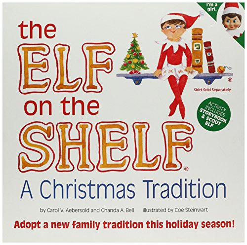 Elf on the Shelf: A Christmas Tradition (blue-eyed girl scout (Cheap Santa Outfit)