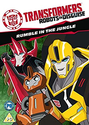 Transformers: Robots In Disguise - Rumble In The Jungle [DVD]