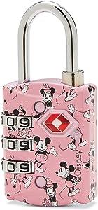 American Tourister Disney TSA 3-Dial Combination Luggage Lock, Mickey & Minnie Kiss, One Size,122893-5280