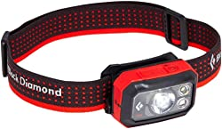 This photo shows the Black Diamond Storm 400 headlamp.