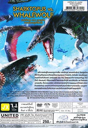 SHARKTOPUS VS. WHALEWOLF (DVD, Region 3, Kevin O'Neill) Casper Van Dien, Catherine Oxenberg, Iggy Pop