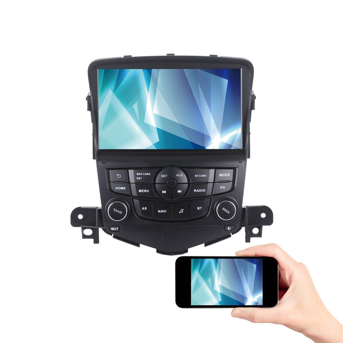Amazon.com: Dasaita Android 7.1 Car Stereo for Chevrolet Cruze Gps ...