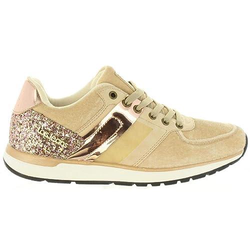 Zapatillas Deporte de Mujer LOIS JEANS 85655 57 BEIG: Amazon.es: Zapatos y complementos