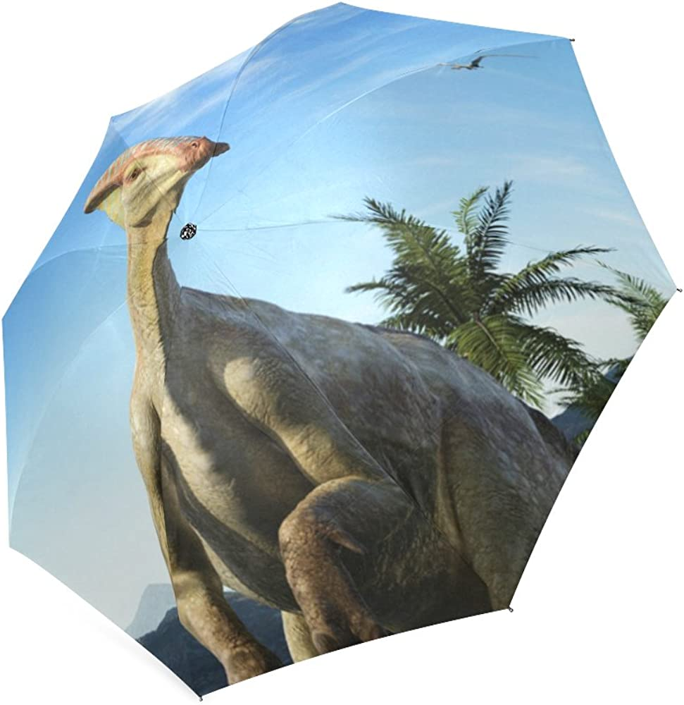 Folding Umbrella Rainproof /& Windproof Umbrella Dragon Custom Umbrella