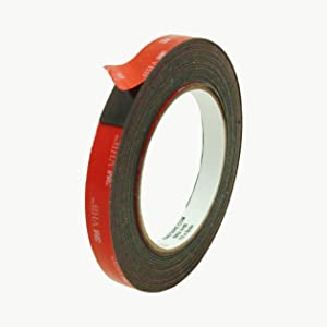 3M Scotch 5952 VHB Tape: 1/2 in. x 15 ft. (Black)