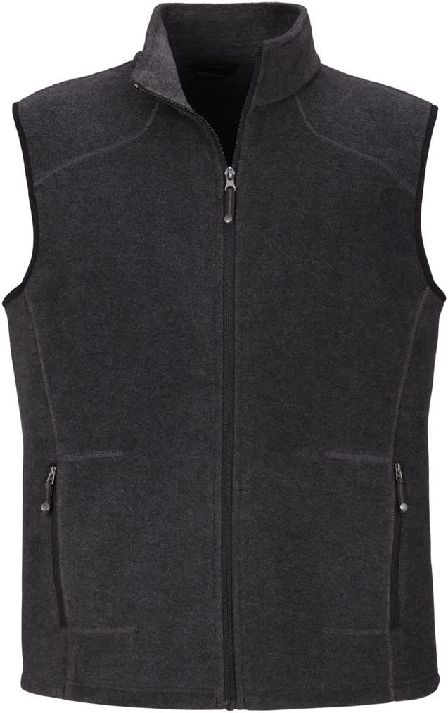Ash City Mens Voyage Fleece Vest