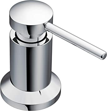 where can i buy official shop available Moen 3942 Deck Mounted Kitchen Soap Dispenser with Above the Sink  Refillable Bottle, Chrome