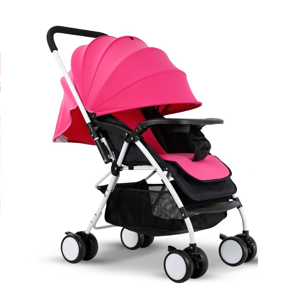 HAIZHEN マウンテンバイク 新しい赤ちゃんの子供のPRAM CARRY RAIN COVER Fits 新生児 B07C6R85L2 ピンク ぴんく ピンク ぴんく