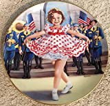 STAND UP AND CHEER from the SHIRLEY TEMPLE PLATE COLLECTION by The Danbury Mint