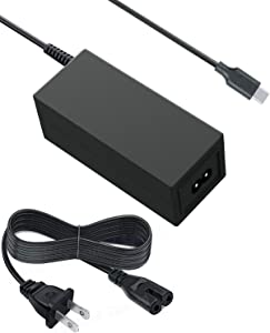 Saireed UL Type C AC Charger for Acer Chromebook R13 CB5-312T CB5-312T-K8Z9 CB5-312T-K5X4,Swift 7 SF713-51 SF714-51T SF714-52T,Switch Alpha 12 SA5-271 SA5-271P Laptop Power USB C Adapter 11FT Cord
