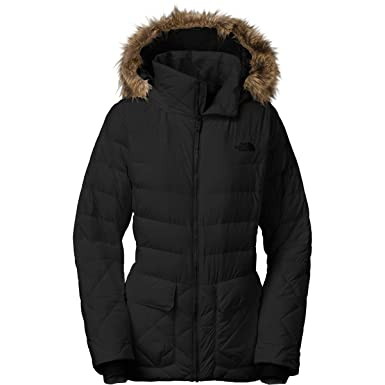 Womens north face jackets with fur hood