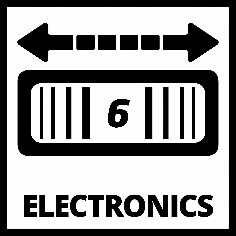 220 Watt, Drehzahl-Elektronik, Softgrip, magnetische 4-Pin-Werkzeugaufnahme, inkl. Staubabsaugadapter, Dreieckschleifplatte, 1x Schleifpapier Einhell Multifunktionswerkzeug TC-MG 220//1 E