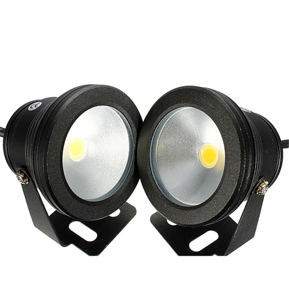Warm White, silver body : 1pc 10W 12V Waterproof LED Flood Light Underwater Fountain Light Wash Pond Fish Tank Aquarium Light Spot Lamp Outdoor Lighting