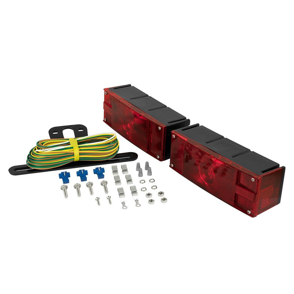 Blazer C6285 Rectangular Low Profile Submersible Trailer Wiring Clearance Lights Light Kit Automotive