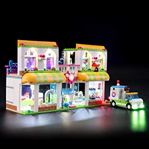 BRIKSMAX Led Lighting Kit for Friends Heartlake City Pet Center - Compatible with Lego 41345 Building Blocks Model- Not Include The Lego Set