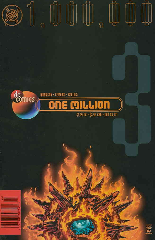 DC One Million #3 FN ; DC comic book