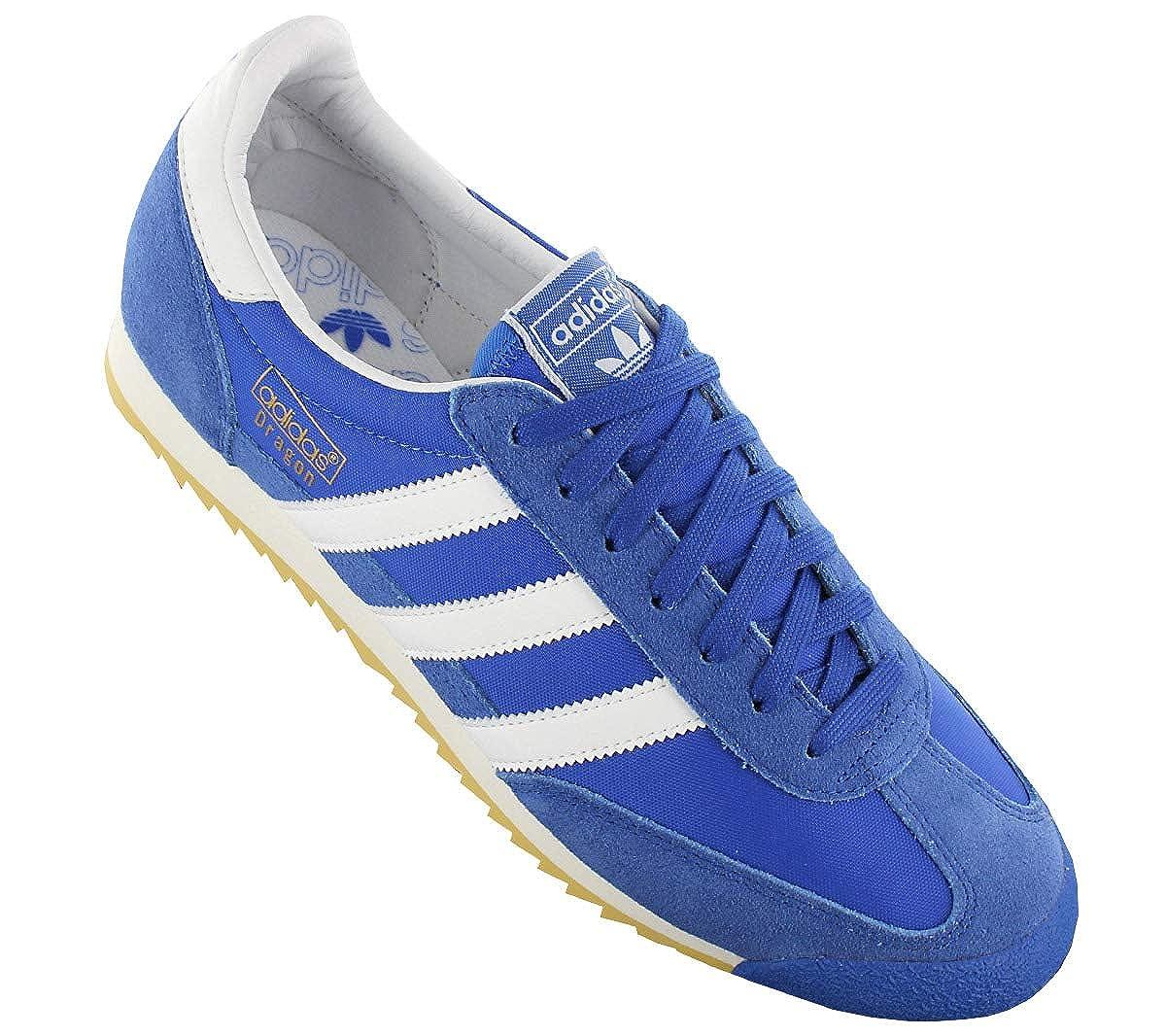 best service 2730c 9e572 adidas Dragon Vintage S32087 Chaussures pour Hommes Bleu Chaussures Homme  Sneaker Baskets Pointure  EU 40 2 3 UK 7  Amazon.fr  Chaussures et Sacs