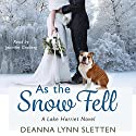 As the Snow Fell: A Lake Harriet Novel Audiobook by Deanna Lynn Sletten Narrated by Jennifer Groberg