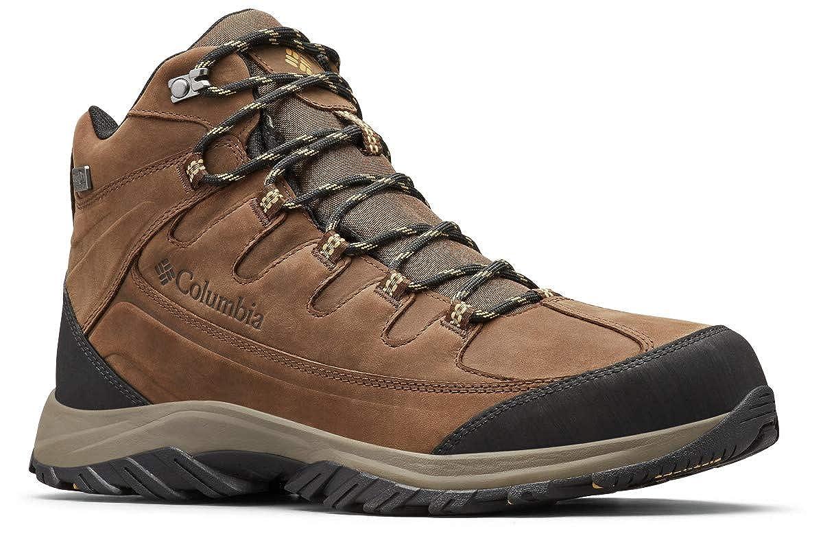 Marron (Mud, Curry) 43.5 EU Columbia Terrebonne II Mid Outdry, Chaussures de Randonnée Hautes Homme