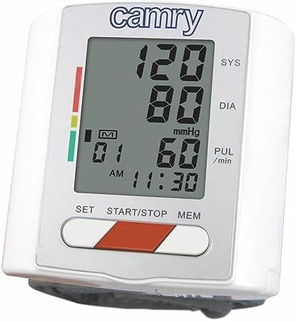 Tensiómetro muñeca monitor esfigmomanómetro monitor de frecuencia cardiaca