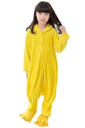 Babyonlinedress Pijama de Halloween disfraz de Pikachu sudadera de fiesta de disfraz holgado y calentito con capucha talla 95: Amazon.es: Ropa y accesorios