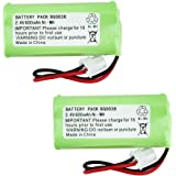 2 Fenzer Rechargeable Cordless Phone Battery for Vtech BT183342 BT-183342