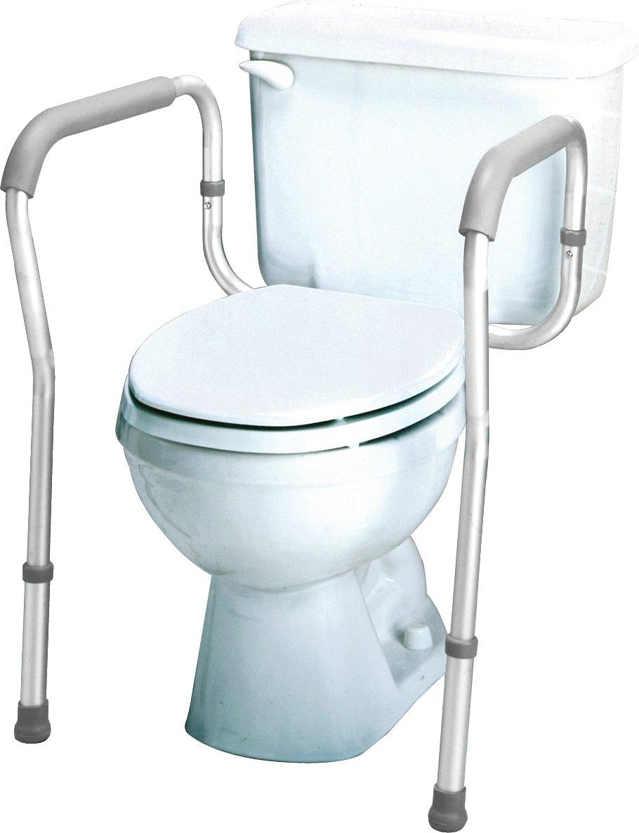 Amazon.com: Carex Health Brands Carex Toilet Safety Frame, Steel ...