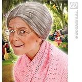 Grandma Wig Child Size for Elderly Old Granny OAP Fancy Dress Accessory