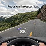 Hudly Lite Head-Up Display (Hud) for Car Speed and