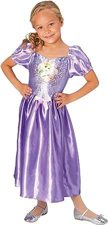 Lito Angels Filles Princesse Raiponce Costumes Fille princesse robes Robe de soir/ée fantaisie Taille 2 Ans