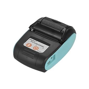 Aibecy GOOJPRT PT-210 Portátil Impresora Térmica Portátil 58mm Impresora de Recibos para Comercios Tiendas Restaurantes Fábricas Logística