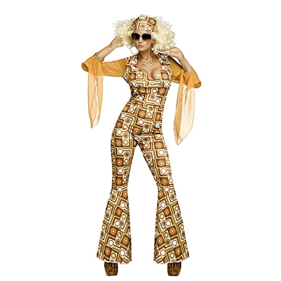 Hippie Costumes, Hippie Outfits Fun World Womens Disco Diva Costume $48.76 AT vintagedancer.com