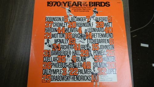 various - 1970: Year of the Birds Exciting Play By Play