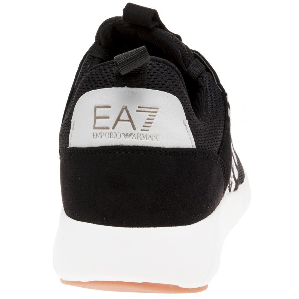EA7 Fusion Schwarz Racer Herren Sneaker Schwarz Schwarz Fusion e18dad