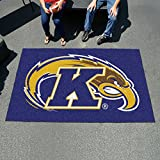 Fan Mats 32 KSU - Kent State University Golden Flashes 60'' x 96'' Ulti-Mat Area Rug / Mat