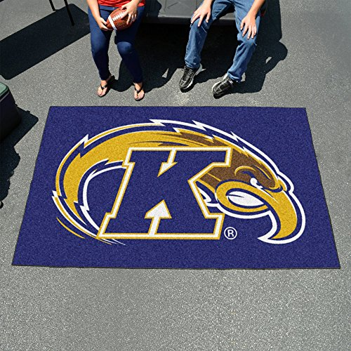 Fan Mats 32 KSU - Kent State University Golden Flashes 60'' x 96'' Ulti-Mat Area Rug / Mat by Fanmats