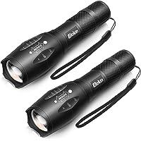 Elekin LED Taschenlampe, Taktische Taschenlampe Extrem Hell, IP65 Wasserdicht, 5 Leuchtmodi, Tragbare Flashlight fürs für Camping Outdoor Wand