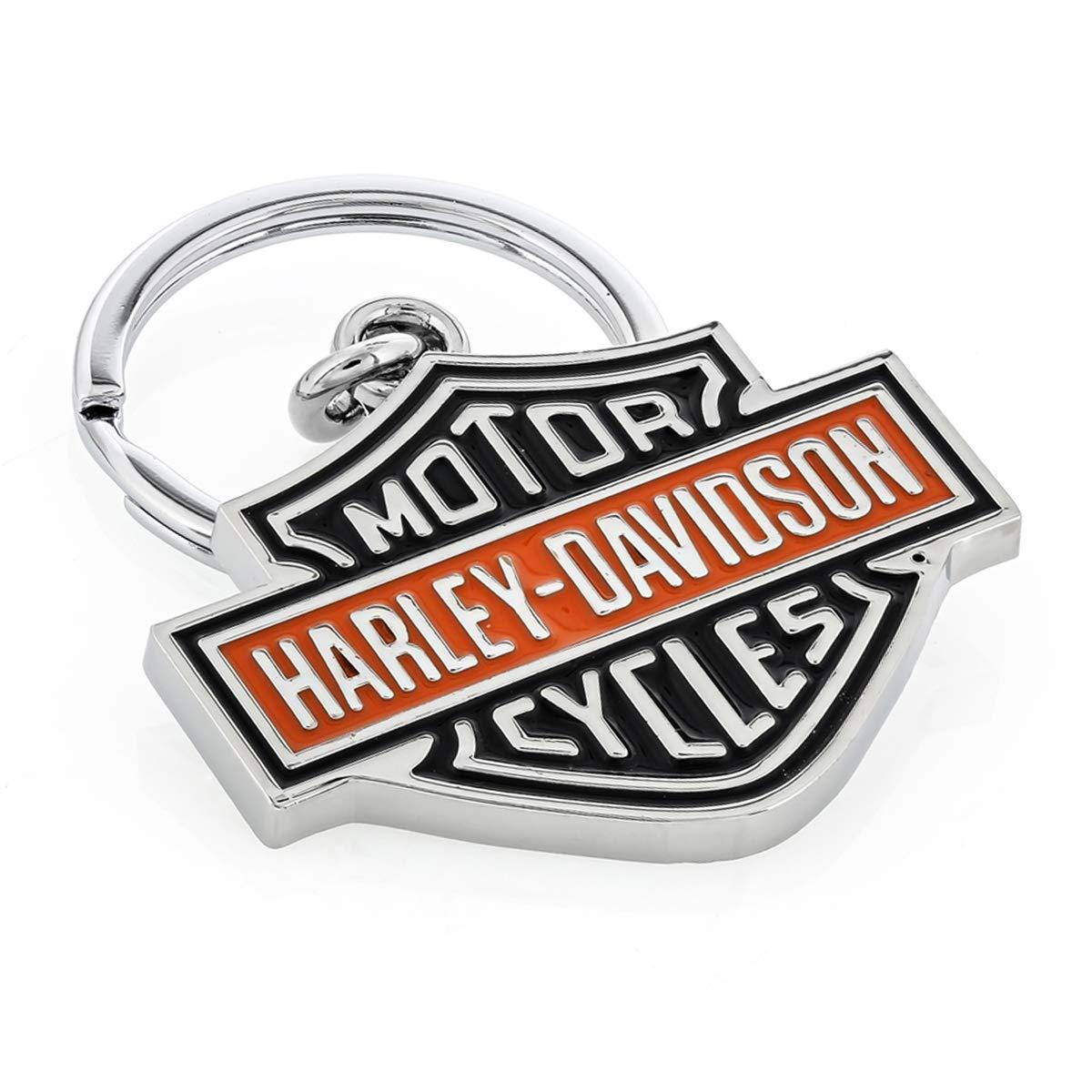 Harley Davidson Car Truck SUV Key Chain Metal Colored Bar /& Shield Logo LFIHDKD15